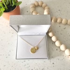 Jewelry - NWT • Macy's | Gold C Initial Disc Necklace